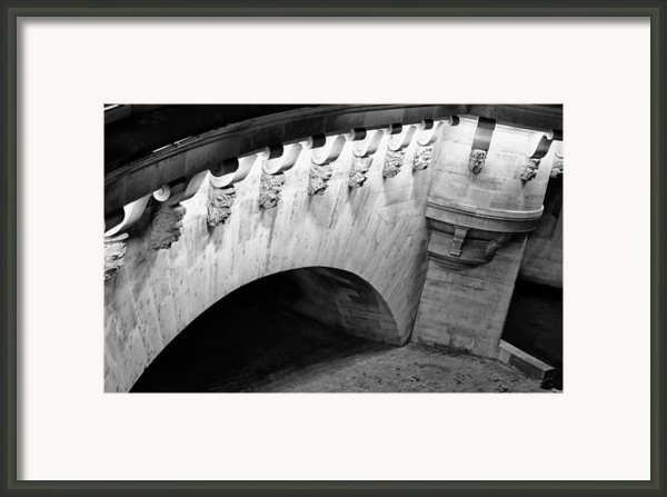 River Seine Bridge Framed Print By Tony Grider