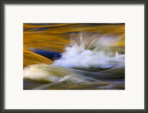 River Framed Print By Silke Magino