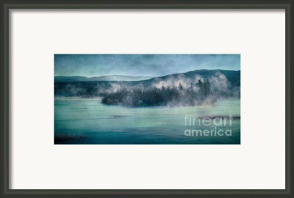 River Song Framed Print By Priska Wettstein