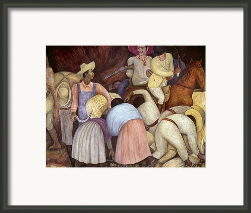 Rivera: Mural, 1920s Framed Print By Granger