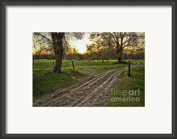 Road Less Traveled Framed Print By Cris Hayes