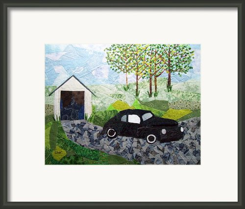 Road Trip Framed Print By Charlene White