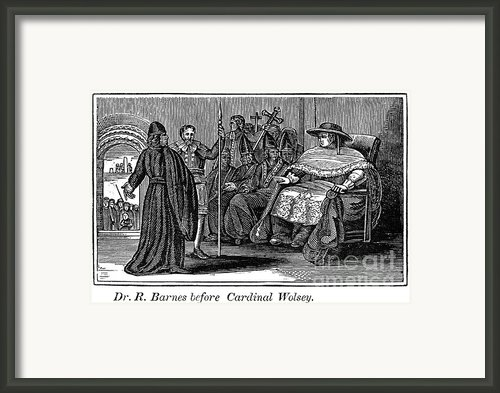 Robert Barnes (1495-1540) Framed Print By Granger