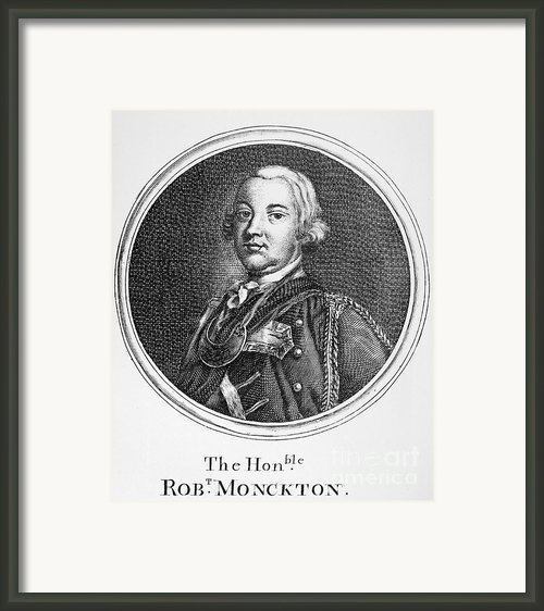 Robert Monckton (1726-1782) Framed Print By Granger