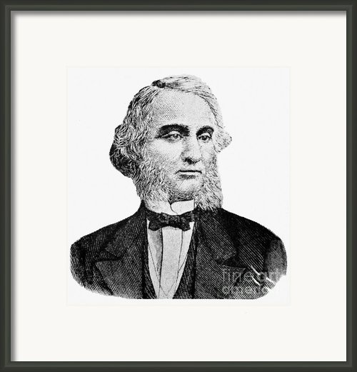 Robert Purvis (1810-1898) Framed Print By Granger
