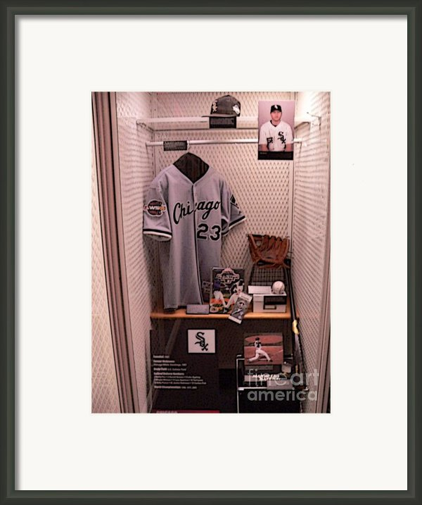 Robin Ventura Framed Print By David Bearden