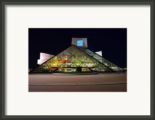 Rock N Roll Hall Of Fame Induction Framed Print By Robert Harmon