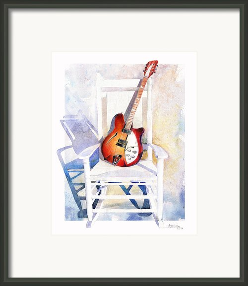 Rock On Framed Print By Andrew King