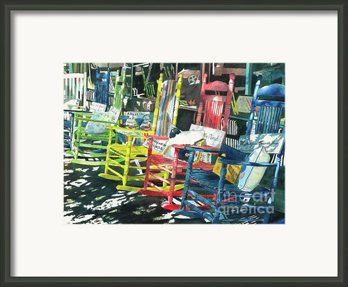 Rock On Framed Print By Leanne Sowa