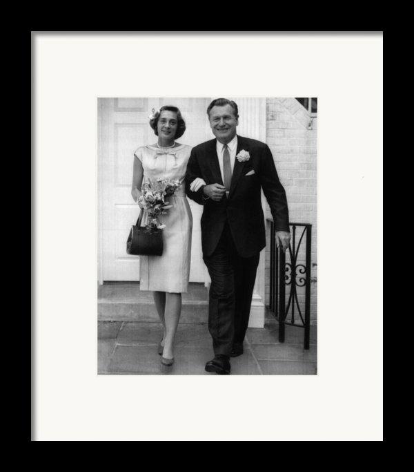 Rockefeller Family. Future Second Lady Framed Print By Everett