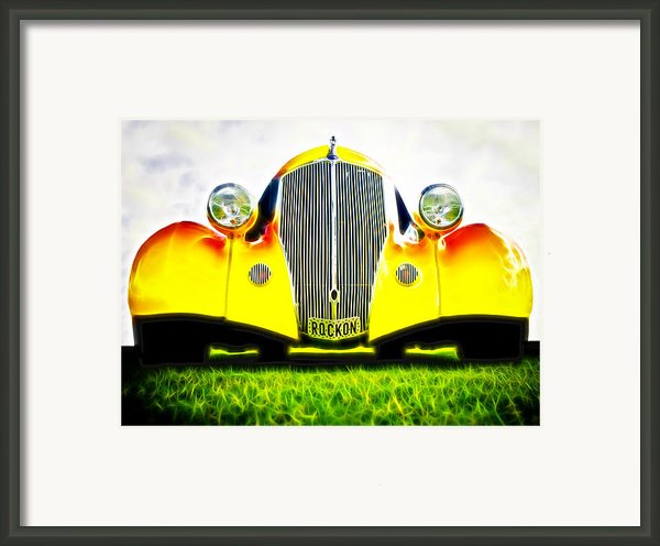Rockon Rod Framed Print By Phil