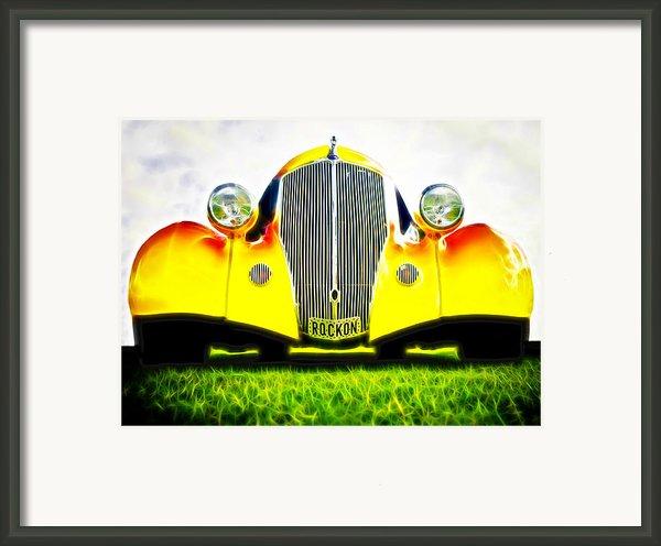 Rockon Rod Framed Print By Phil