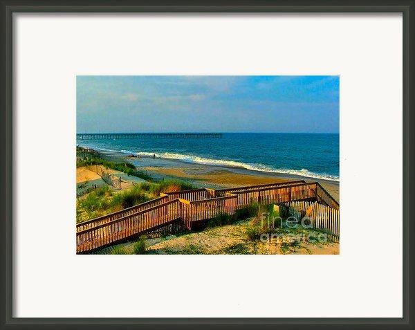 Rodanthe On The Outer Banks Framed Print By Julie Dant