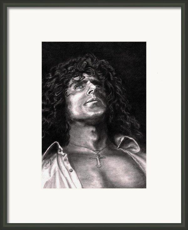 Roger Daltry Framed Print By Kathleen Kelly Thompson
