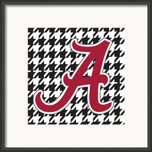 Roll Tide Mini Canvas Framed Print By Greg Sharpe