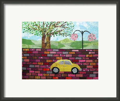 Rolling On The Bricks Framed Print By Charlene White