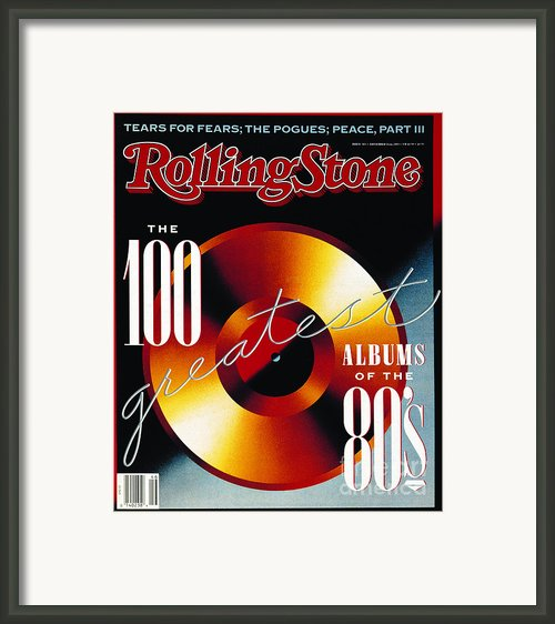 Rolling Stone Cover - Volume #565 - 11/16/1989 - 100 Greatest Albums Of The
