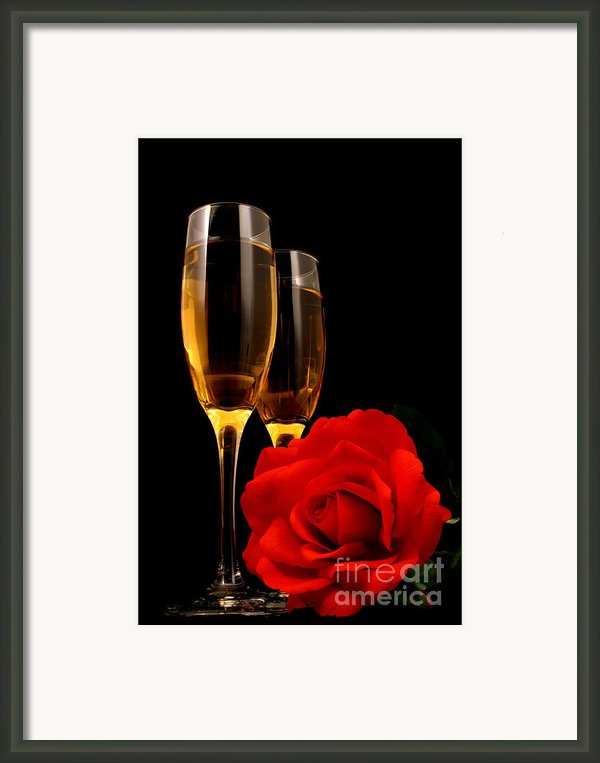 Romance Framed Print By Darren Fisher