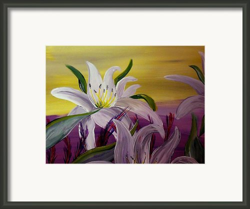 Romantic Spring Framed Print By Mark Moore