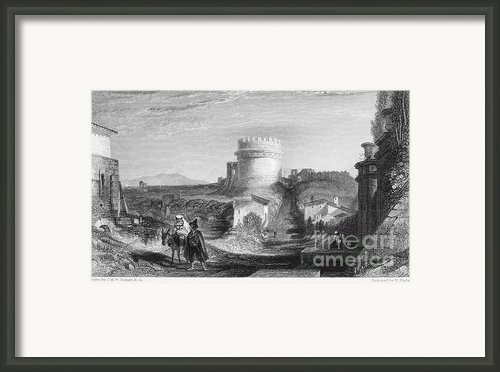 Rome: Appian Way, 1833 Framed Print By Granger
