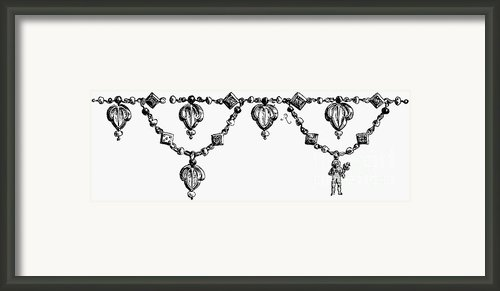 Rome: Gold Collar Framed Print By Granger