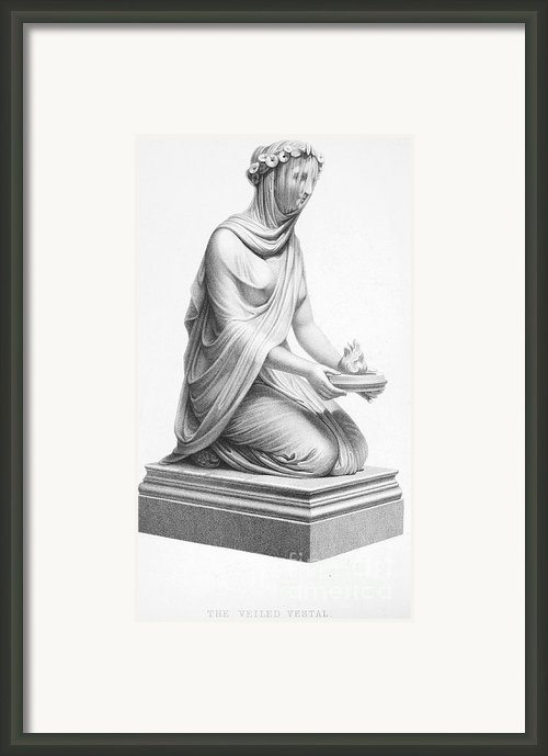 Rome: Vestal Virgin Framed Print By Granger