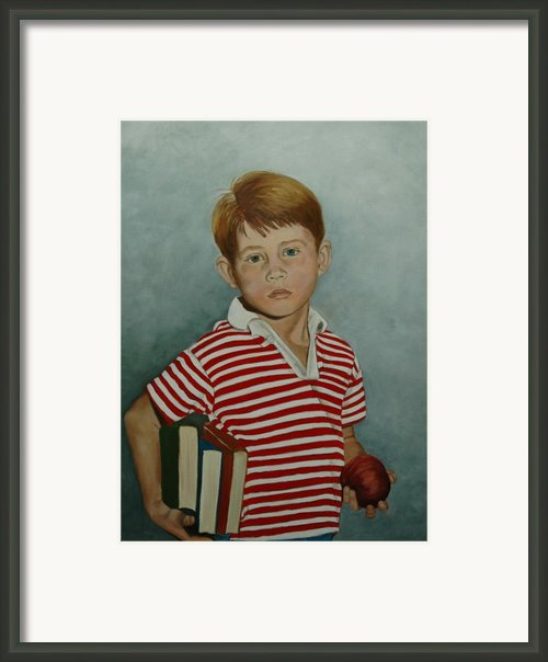 Ron Howard As Opie Taylor Framed Print By Tresa Crain