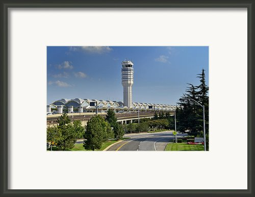 Ronald Reagan National Airport Framed Print By Brendan Reals
