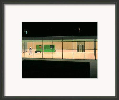 Rooftop Berlin Framed Print By Scott Listfield