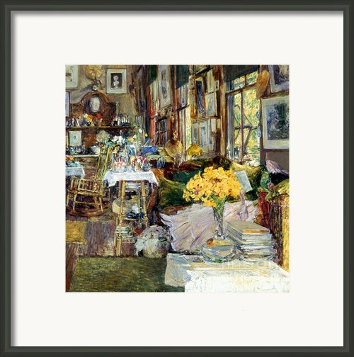 Room Of Flowers, 1894 Framed Print By Granger