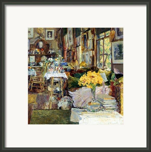 Room Of Flowers, 1894 Framed Print By Granger