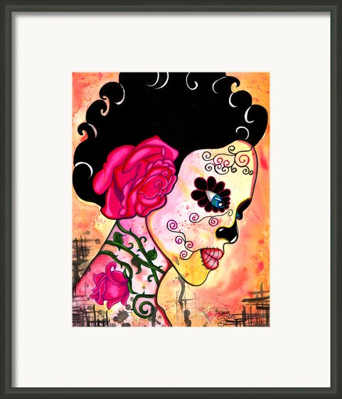 Rose Noose Framed Print By B Marie