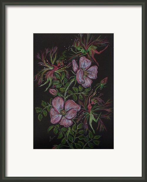 Roses Run Amok Framed Print By Dawn Fairies