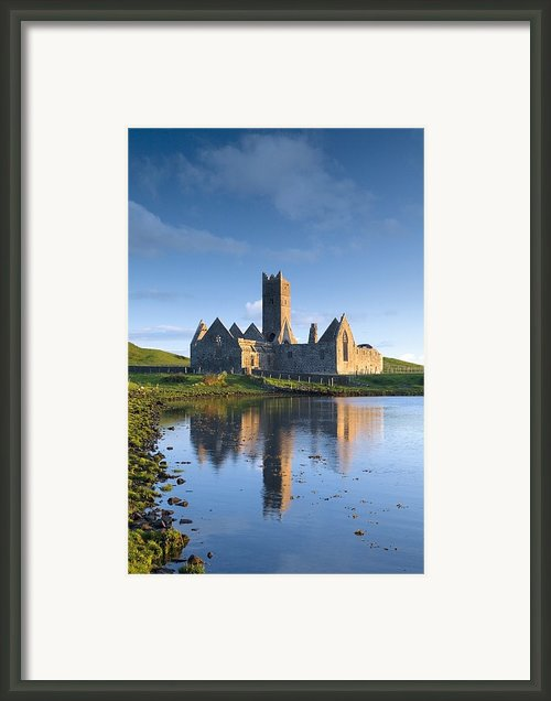 Rosserk Friary, Co Mayo, Ireland 15th Framed Print By Gareth Mccormack