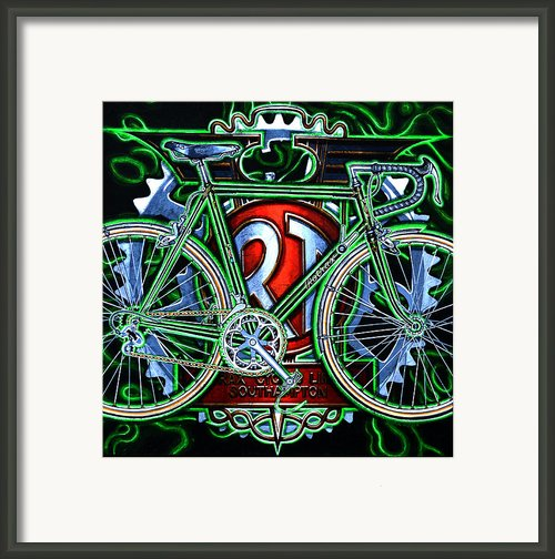 Rotrax Framed Print By Mark Howard Jones