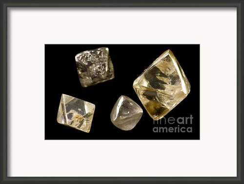 Rough Diamonds Framed Print By Christopher Kolaczan