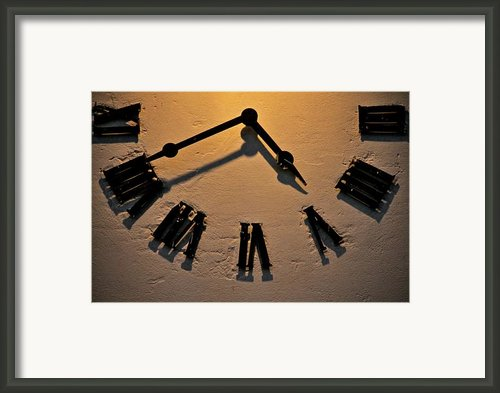 Rough Times Framed Print By Odd Jeppesen