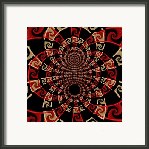 Roulette Sunset Framed Print By David April