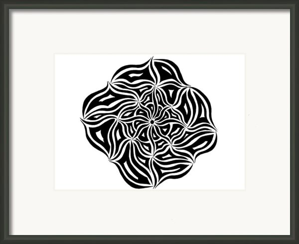 Round And Round We Go Framed Print By Beth Akerman