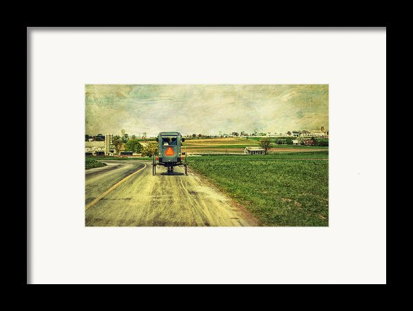 Route 716 Framed Print By Kathy Jennings
