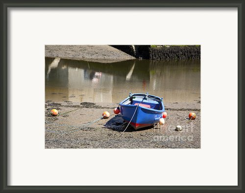 Rowing Boat Framed Print By Jane Rix