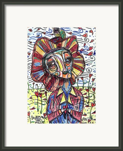 Royal Love Framed Print By Robert Wolverton Jr
