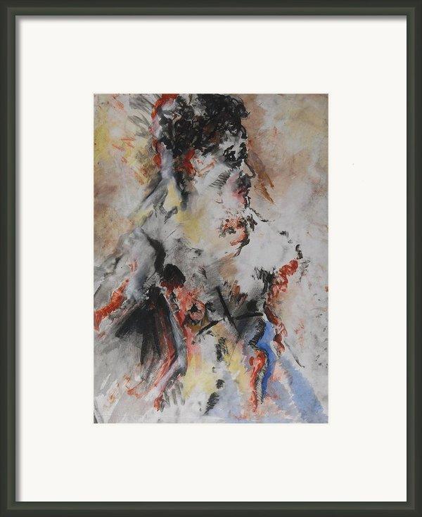 Royalty Framed Print By Iris Gill
