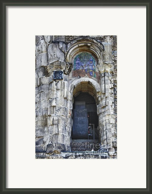Ruins Framed Print By Joan Carroll