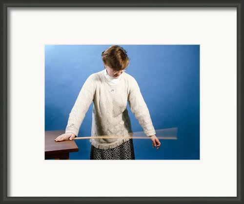 Ruler Vibrating Framed Print By Andrew Lambert Photography