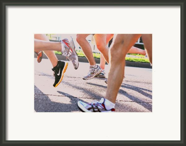 Run Framed Print By Susie Dezarn