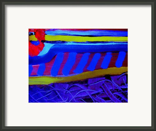 Running Bug Framed Print By Allen N Lehman