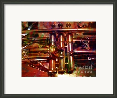 Running On Three Cylinders V1 Framed Print By Michael C Geraghty