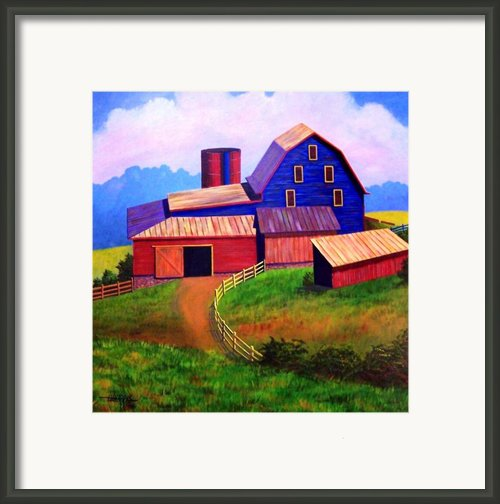 Rural Reverie Framed Print By Hugh Harris