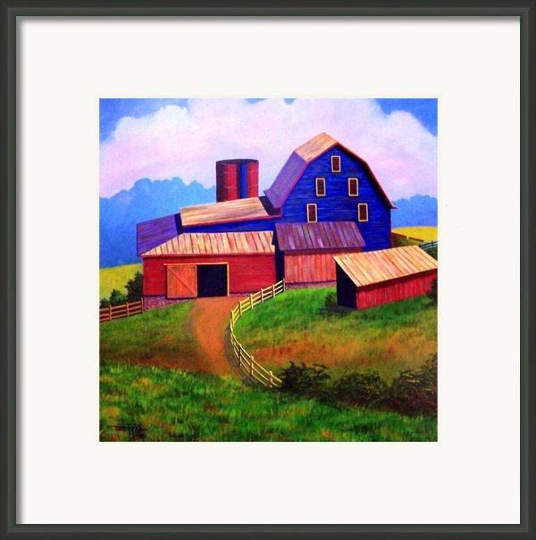 Rural Reverie Framed Print By Hugh Harris